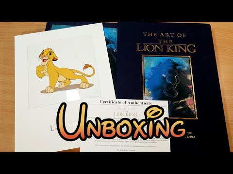 The Art of The Lion King Book - Signed Limited Edition Unboxing