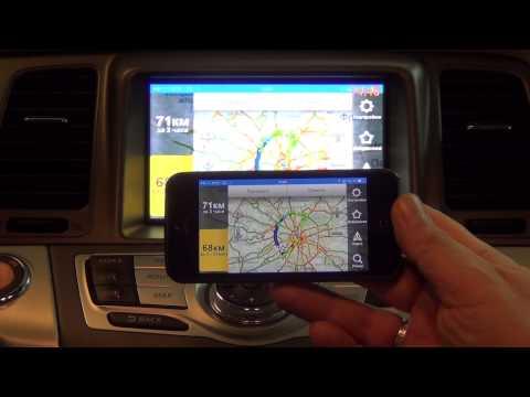 Nissan Murano - подключение смартфона к штатному монитору  (SMi Mirrorlink)