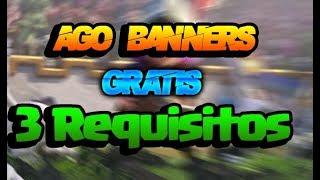 Hago Banners Gratis!! Solo 3 REQUISITOS! ByOsoGamers