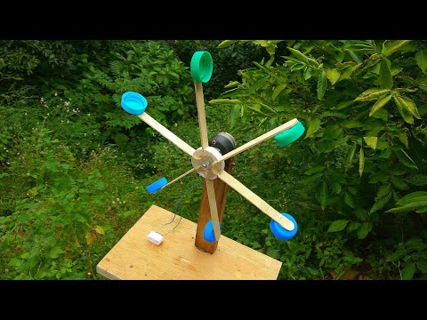 how to make 100% free energy from water flow | hydro power |