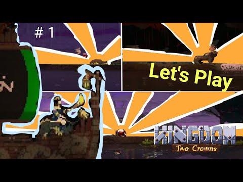 Island 1 & 2 - Kingdom Two Crowns    Dead Land    Gameplay #1  