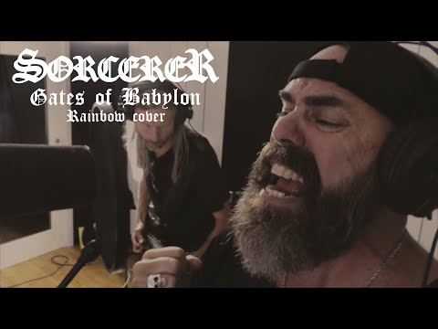 Sorcerer - Gates of Babylon (Rainbow Cover)