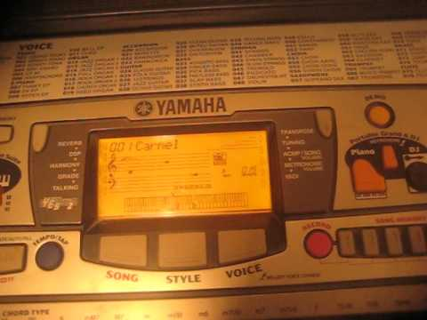 yamaha psr 280 demo song 1 carmel by joe sample youtube. Black Bedroom Furniture Sets. Home Design Ideas