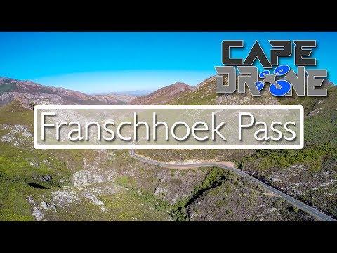 Franschhoek Pass - A drones view