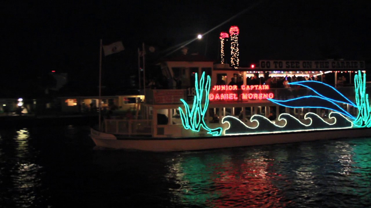 Fort Lauderdale Christmas Boat Parade.Winterfest Boat Parade 2017