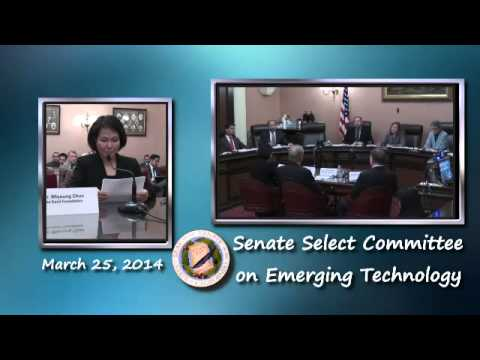 Select Committee on Emerging Technology: Biotechnology & Green Energy Jobs