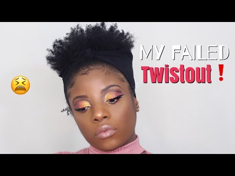 FAIL ! Twist Out On Short Natural 4c Hair + Youtube Changes Policy