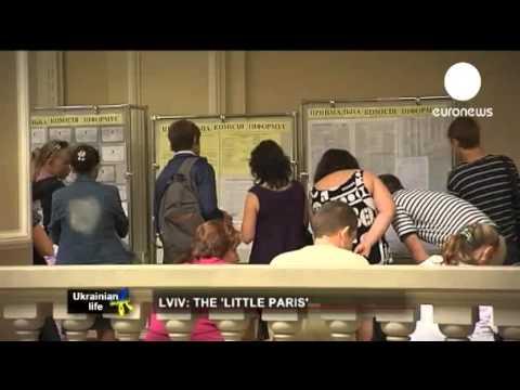 lvıv (lvov) Ukrayna - kısa belgesel