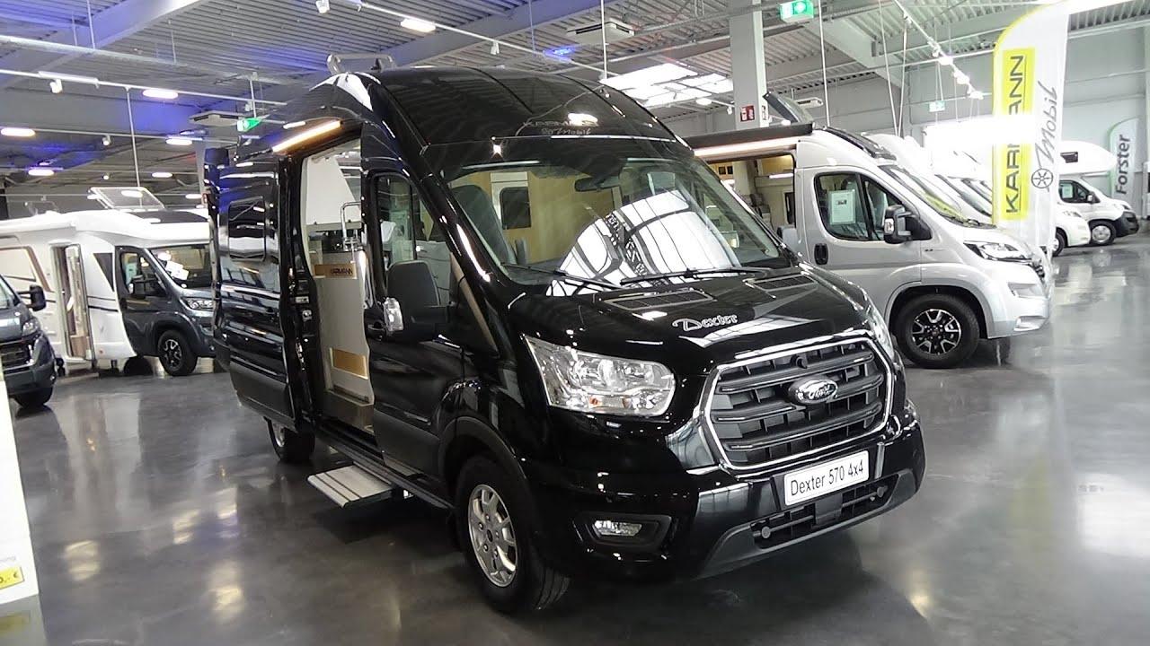 2021 Karmann Mobil Dexter DX 570 4x4 - Exterior and Interior - Reisemobilforum Sprendlingen 2021