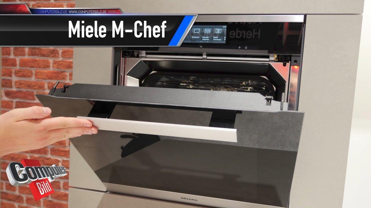 Miele M Chef Backofen Gart Mit Handystrahlen Youtube