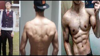 턱걸이(맨몸운동) 2년동안 변화과정-노력하면 발전할수있다. 새벽반고고씽 Yoon Daejin 2Years Calisthenics Transformation
