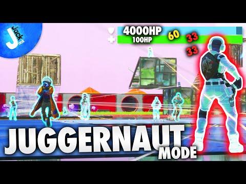 JUGGERNAUT VS EVERYONE On Fortnite Creative