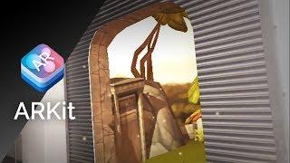 rainforest garage arkit