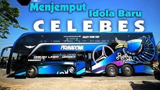 Mengantar Bus Super Mewah Primadona Dari Karoseri sampai Pelabuhan Tanjung Perak