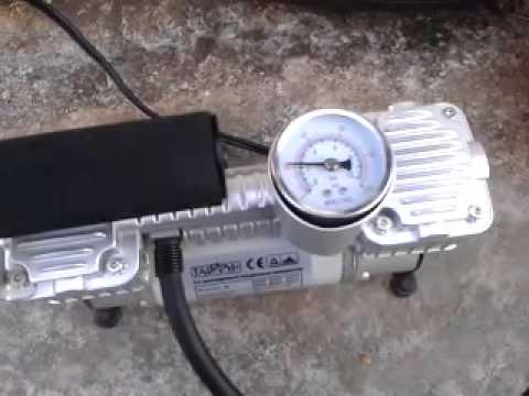 Двухцилиндровый автомобильный компрессор