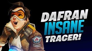 Dafran Insane Tracer Game! - Overwatch