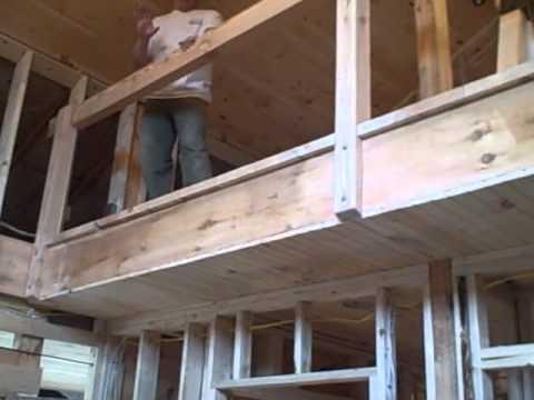 Larch Balcony Railing Install Youtube