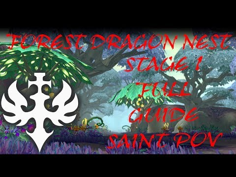 Forest Dragon Nest l Stage 1 GUIDE Indonesia