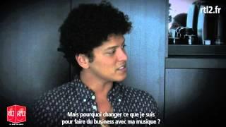 Interview RTL2 : Bruno Mars