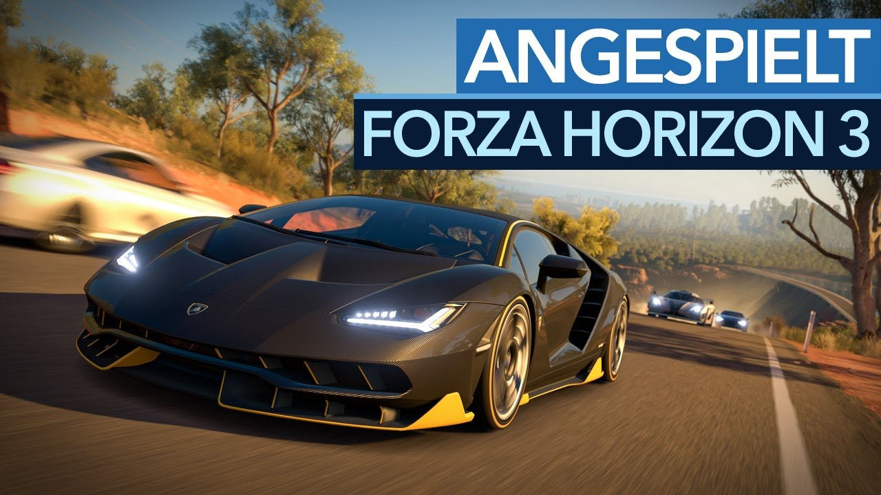 Forza horizon 3 open world