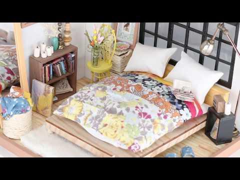 Robotime dollhouse kit - Alice's Dreamy Bedroom - DG107