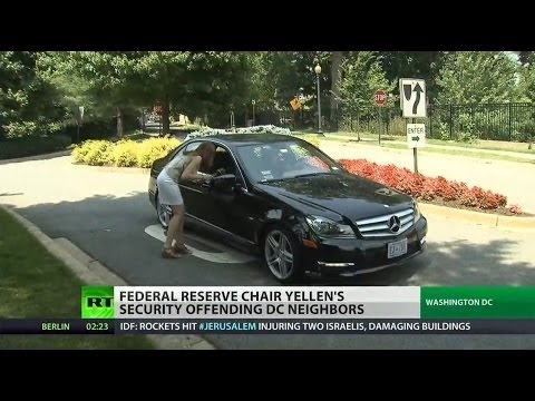 Fed chair's excessive security angers neighbors
