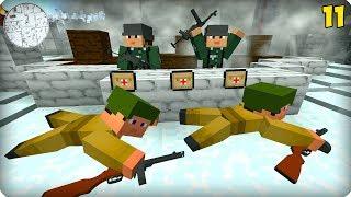 Вторая Мировая Война [ЧАСТЬ 11] Call of duty в Майнкрафт! - (Minecraft - Сериал)
