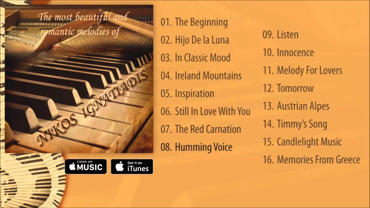 malta colgar Sur  Nikos Ignatiadis - The most beautiful and romantic melodies Album  Pre-listen [Official] - YouTube
