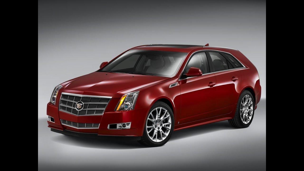 Real World Test Drive Cadillac CTS Wagon 2010 - YouTube