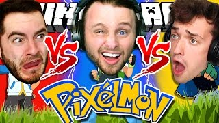 Minecraft | Pokemon | 1v1v1 MASTERBALL CHALLENGE!!