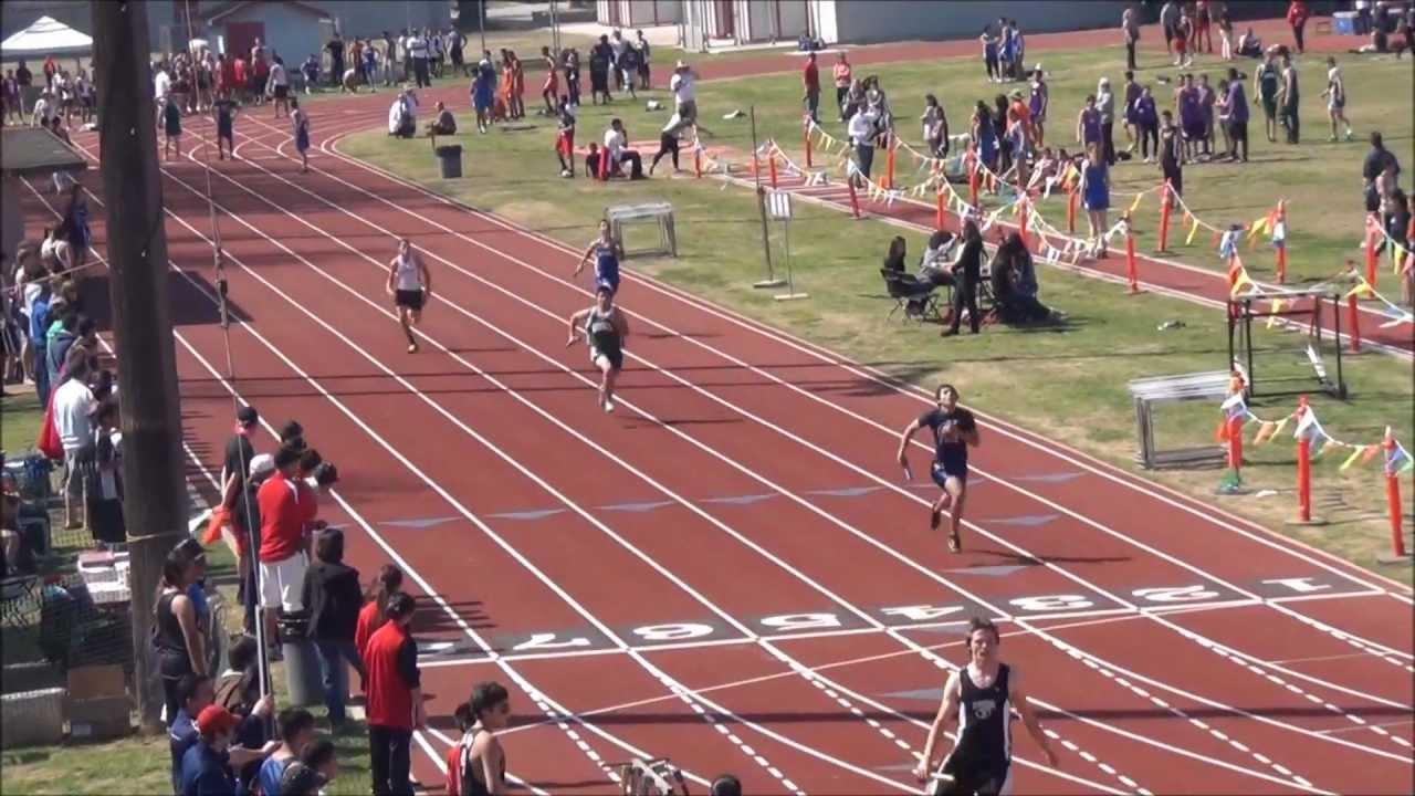 Fowler High School Track Meet 2012 4X100 Frosh Soph Boys ...