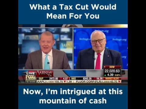 What a Tax Cut Would Mean For You | The Heritage Foundation
