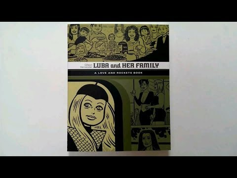 Luba and Her Family (The Love and Rockets Library) by Gilbert Hernandez - video preview