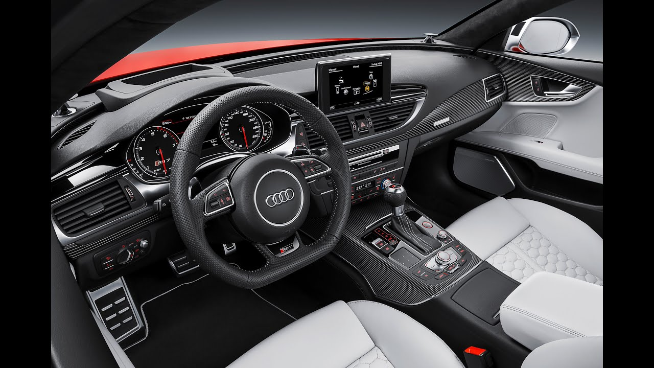 Audi RS7 2015 INTERIOR Audi RS7 Price $105,000+ Review 2015 ...