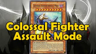 Colossal Fighter Assault Mode style
