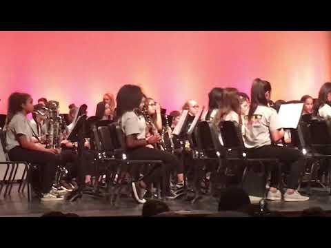 Day Creek Intermediate 2017 winter concert Patapan