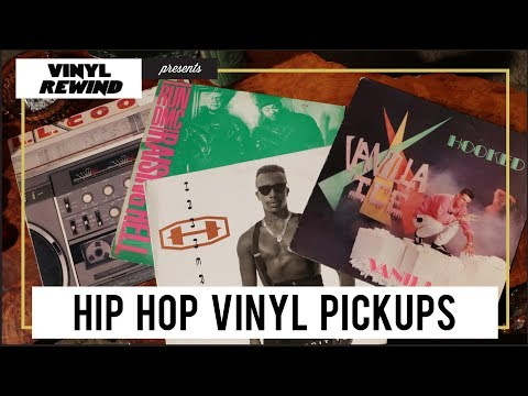 Hip Hop & Rap vinyl from the 80s & 90s | Awesome Finds #57