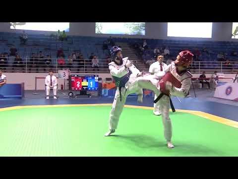 Female  57kg Quarterfinal | Ah Reum LEE (KOR) VS Xiaojie LI (CHN)
