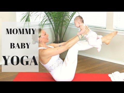 Mommy & Baby Yoga - Episode 1 - Liel Cheri Yoga