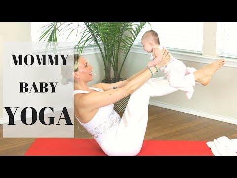 Mommy & Baby Yoga Episode 1 Liel Cheri Yoga