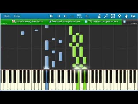 Piano Tutorial :  Sezen Aksu - Küçüğüm
