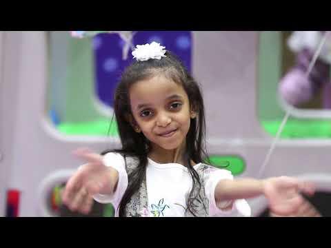 قناة اطفال ومواهب الفضائية كليب عنوان الانجاز للنجمة الين ابوجبل نسخة ايقاع