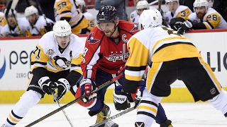 Kessel, Guentzel score a pair each as Penguins chase Holtby to beat Capitals