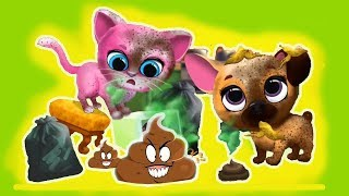 Kiki & Fifi Pet Friends - Furry Kitty & Puppy Care | Baby Play And Take Care of Pets - Fun Kids Game