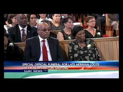 Official funeral of ex-Umkhonto weSizwe, Hermanus Loots is underway