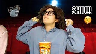 Conversas com os pais no cinema...