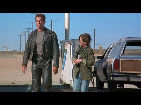Smile once in a while Extended scene  Terminator 2 Remastered