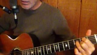 The Night that the Pugilist Finally Learned How To Dance by Sting cover acoustic