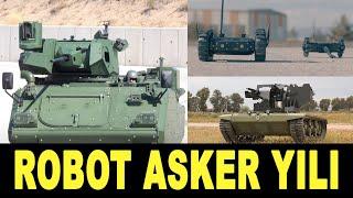 2021'de boy boy robot asker - Turkey's unmanned ground vehicles - İnsansız kara aracı - ASELSAN