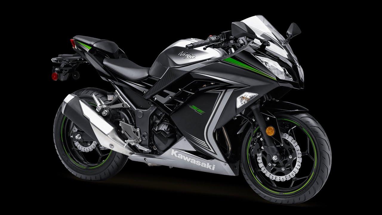 2015 Kawasaki Ninja 300 stock exhaust! - YouTube